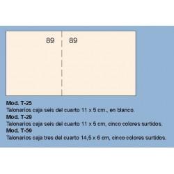 Loan T29 Talonario Caja 5c surtidos