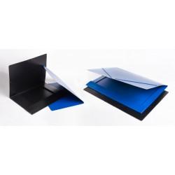 Saro Carpeta Carton A3 Negra M.514