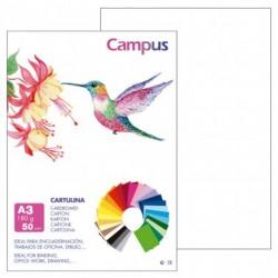 Campus Cartulina A3 180gr. Blanco