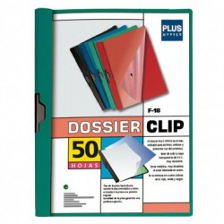 Plus Office Dossier A4 Pinza Metal F-18 50h Verde