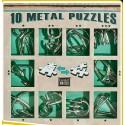 Eureka 473357 Set Puzzles Metal 3D 10 Unidades
