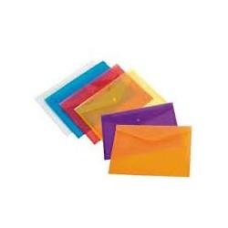 Beifa Funda con broche A4 Colores surtidos