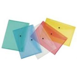 Yes Funda con broche A4 Neon Colores surtidos