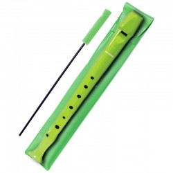 Hohner Flauta Melody con funda B9508 Verde claro