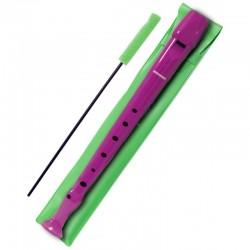 Hohner Flauta Melody con funda B9508 Violeta
