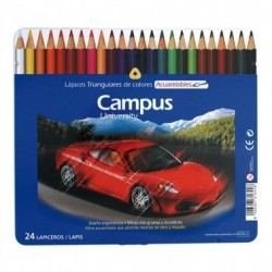 Campus Lapices Acuarelables 24 colores
