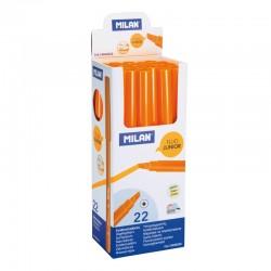 Milan Rotulador Fluo. Junior Naranja