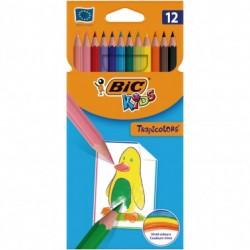 Bic Lapices Kids Tropi. 12 colores