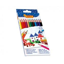 Jovi Lapices de madera 12 colores