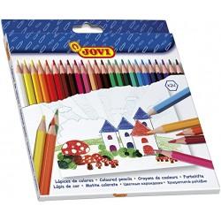Jovi Lapices de madera 24 colores