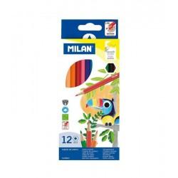 Milan Lapices 12 colores