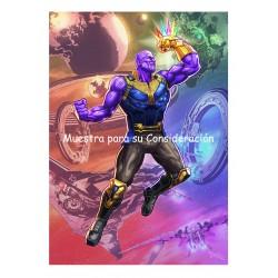 Javier Tejera Lamina A4 Only Thanos