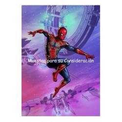 Javier Tejera Lamina A4 Spiderman