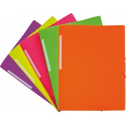 Colorgraf Carpeta PP Folio solapas fluorescente colores surtidos