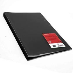 Proa Carpeta Fundas Folio 20F Negra