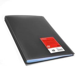 Proa Carpeta Fundas Folio 40F Negra
