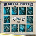 Eureka 473356 Set Puzzles Metal 3D 10 Unidades