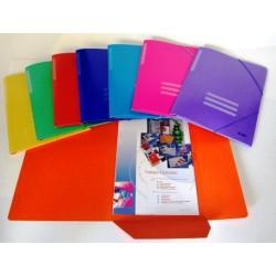 Saro Carpeta Carton Folio Mod.3002 Amarillo