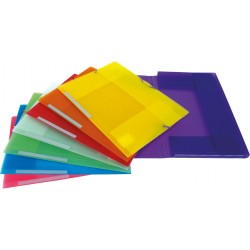 Colorgraf Carpeta PP Folio solapas colores surtidos