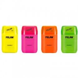 Milan Afilaborra Compact Fluo 2 bocas