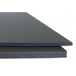 Carton Pluma 70x100cm 10mm Negro