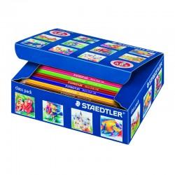 Staedtler Lapices Noris 120-2 144 unidades 12 colores ( C144)