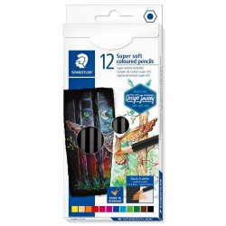 Staedtler Lapices Color Soft 12 colores