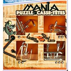 Eureka 473201 Puzzle Metal 3D Set 4 Unidades