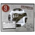 Eureka 473207 Set Puzzles Metal 3D 9 Unidades