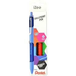Pentel Set 4 Boligrafos iZee Basicos