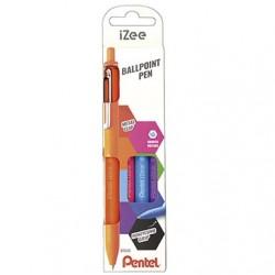 Pentel Set 4 Boligrafos iZee Fantasia
