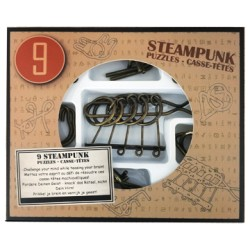 Eureka 473206 Set Puzzles Metal 3D 9 Unidades