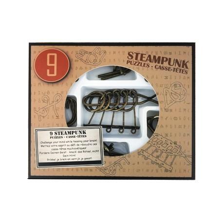 Eureka 473206 Puzzle Metal 3D Set 9 Unidades