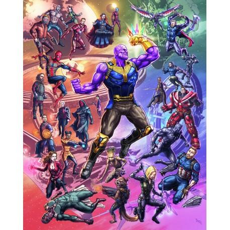 """Javier Tejera Poster """"Epic Thanos"""""""
