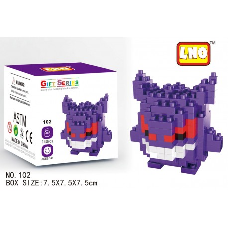 LNO MB102 Miniblock Pokemon Series