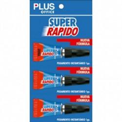 Makro Paper Pegamento Super Rapido 1gr. 3unidades