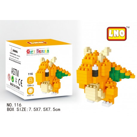 LNO MB116 Miniblock Pokemon Series