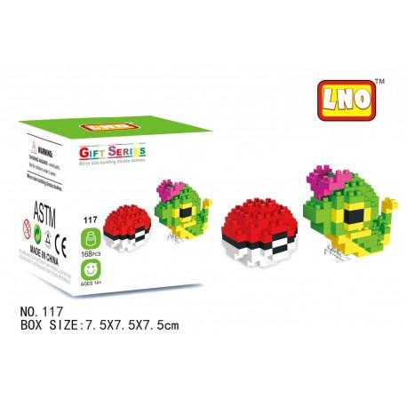 LNO MB117 Miniblock Pokemon Series