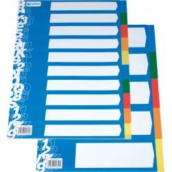 Grafoplas Separador Folio Eco. 10 posiciones multitaladro colores surtidos