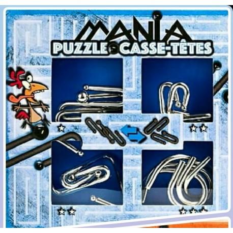 Eureka 473203 Puzzle Metal 3D Set 4 Unidades
