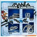 Eureka 473203 Set Puzzles Metal 3D 4 Unidades