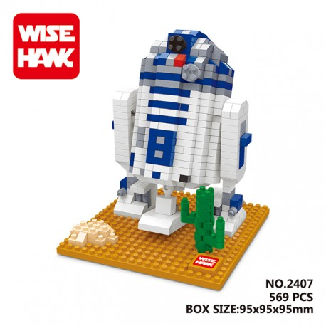 Wise Hawk MB2407 Miniblock Star Wars Series