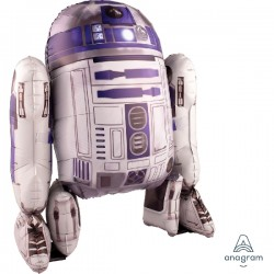 Anagram 110067 Globo Airwalker Star Wars R2D2 96cm.
