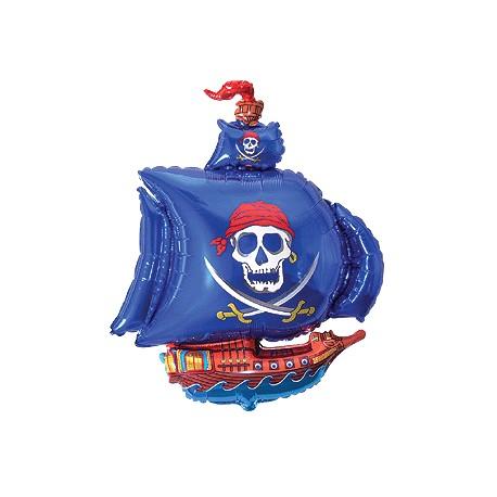 Flexmetal 901669 Globo Foil Barco Pirata