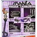 Eureka 473204 Set Puzzles Metal 3D 4 Unidades