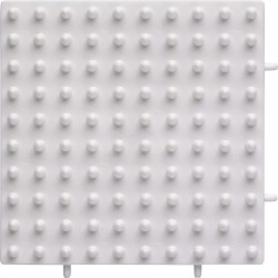 Hama 8213 Placa Maxi Cuadrada Conectable Blanca