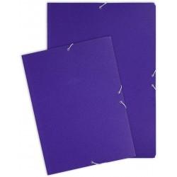 Grafoplas Carpeta Carton A3 Grafo solapas elastico Azul