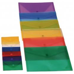 Grafoplas Funda con broche Folio PP Ecoplas Colores surtidos