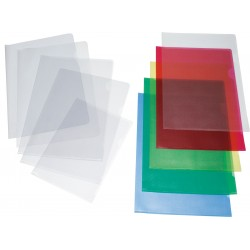 """Grafoplas Funda en """"L"""" Folio Verde"""
